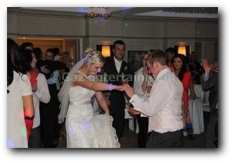 Galgorm Wedding Entertainment LED Dance floor