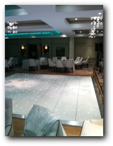 Galgorm LED dance floor