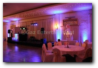 Dunadry Hotel Uplighting